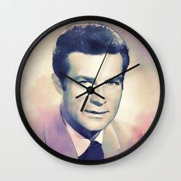 Robert Conrad, Hollywood Legend Wall Clock