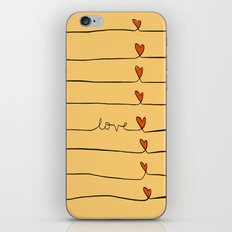 Lovelines iPhone & iPod Skin