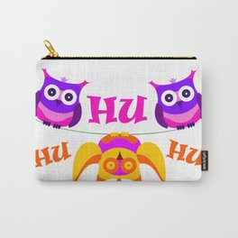 Triolium - owl party Carry-All Pouch