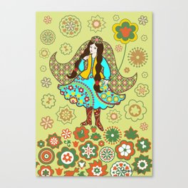 Tatar girl Canvas Print