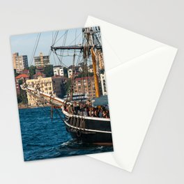 Southern Swan Sailing Ship, Sydney Harbour Stationery Cards