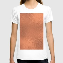 Simply Metallic in Deep Copper T-shirt