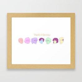 Team Ravioli Framed Art Print