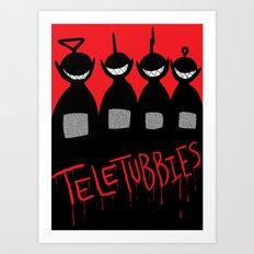 Teletubbies Art Print