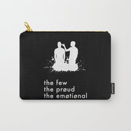 the few, the proud, the emotional // Twenty One Pilots Carry-All Pouch