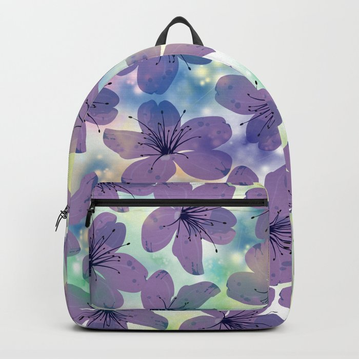 Floral Pattern #4 Backpack