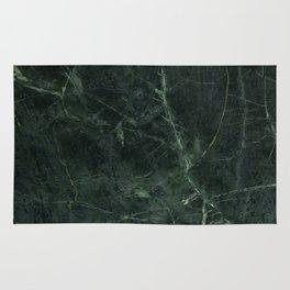 Dark Green Marble Texture Stone Rug