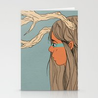 dorothy Stationery Cards featuring Dorothy by The Bad Artist