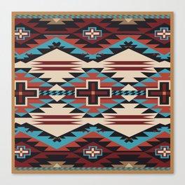 American Native Pattern No. 67 Canvas Print