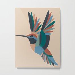 freedom kingfisher  Metal Print