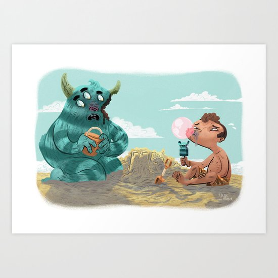 Death of the Imagination Art Print