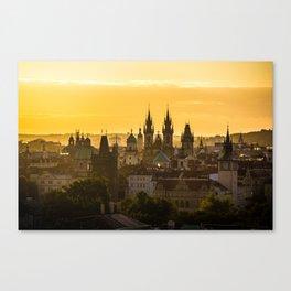 Prague Dawn Canvas Print