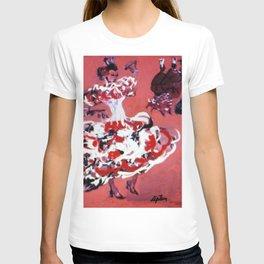 FLAMENCO, Spain                  by Kay Lipton T-shirt