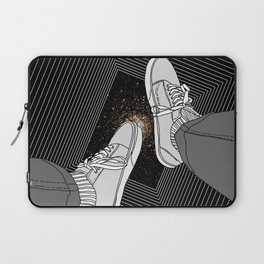 FALLING INTO THE SPACE Laptop Sleeve