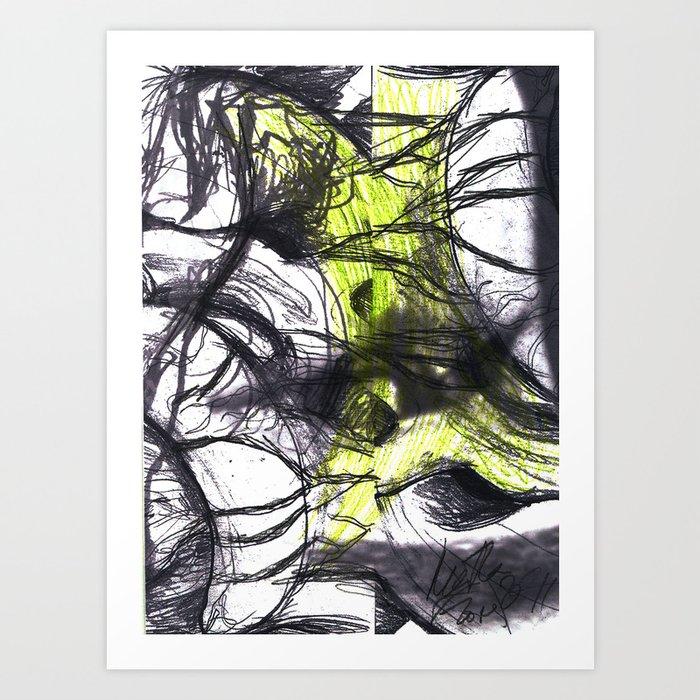 Vuelvo a mí II Art Print