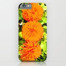 Pop Art Flowers Slim Case iPhone 6s