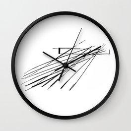 Salerno Maritime Terminal by Zaha Hadid Architects Wall Clock