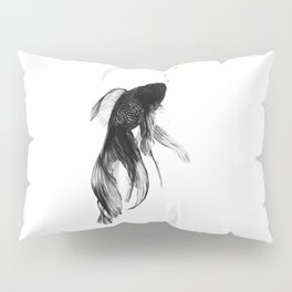 Black Moor Goldfish Pillow Sham