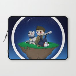 Levitating Island of Awesomeness Laptop Sleeve