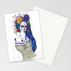 Scull Candy Lady Stationery Cards
