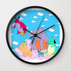 los peches Wall Clock