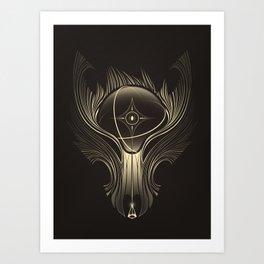 Wolfgun - Road To Jupiter I Art Print