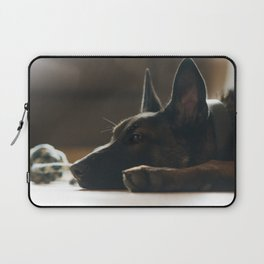 Play break of a Malinois Laptop Sleeve