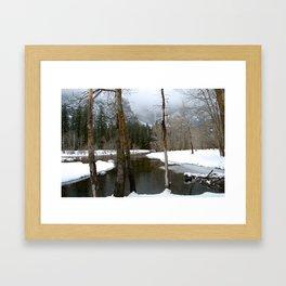 Falling Grace Framed Art Print