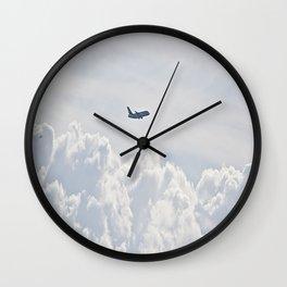 Entre las nubes Wall Clock