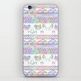 Pastel Elephant Tribal Pattern iPhone Skin