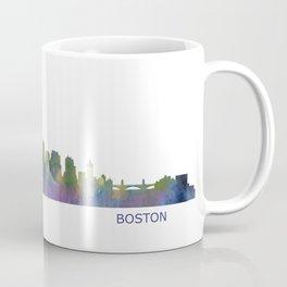 Boston Massachusetts City Skyline Hq V1 Coffee Mug