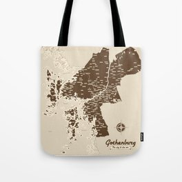 Gothenburg - The city & the sea Tote Bag