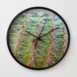 Prickly Cactus Wall Clock