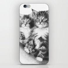Double Dose of Cuteness iPhone & iPod Skin