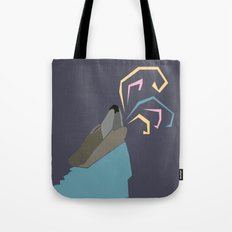 Wolf Colors  Tote Bag