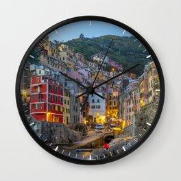 Riomaggiore of Cinque Terre Wall Clock