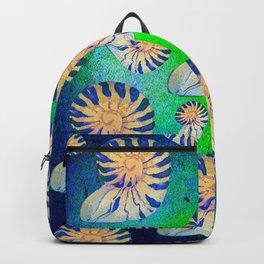 SEA SHELLS PATTERN Backpack