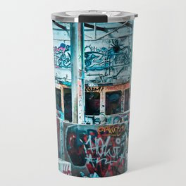 Abandoned Factory Made Art Travel Mug