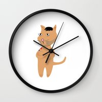 marc johns Wall Clocks featuring MARC by Tyler Pentland