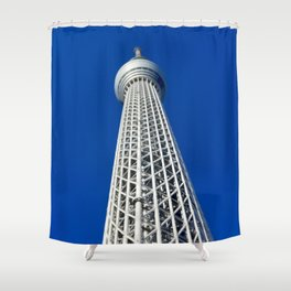 Skytree Shower Curtain