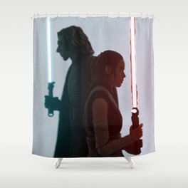 Half of the same protagonist Shower Curtain