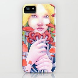 Keeper of the Scarlet Garden iPhone Case