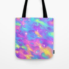 Pastel Galaxy Tote Bag