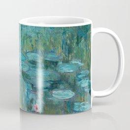 Water lilies by Claude Monet, 1915 Coffee Mug