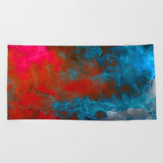 Deep Space Beach Towel