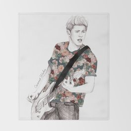 Floral Niall Throw Blanket