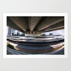 Movement Underneath Art Print