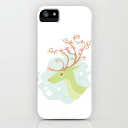 Spring Antlers iPhone Case