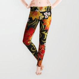 Shabby flowers #21 Leggings