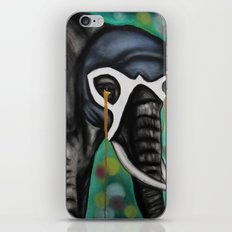 Elefante Don't Forget iPhone & iPod Skin